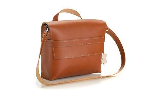Cicli Bonin Monte Grappa Lateral Leather Brandy Taschen, braun, 30 x 9 x 27 cm
