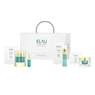 KLAU Crema hidratante Bio, anti edad con protección SPF 30 + – 50 ml