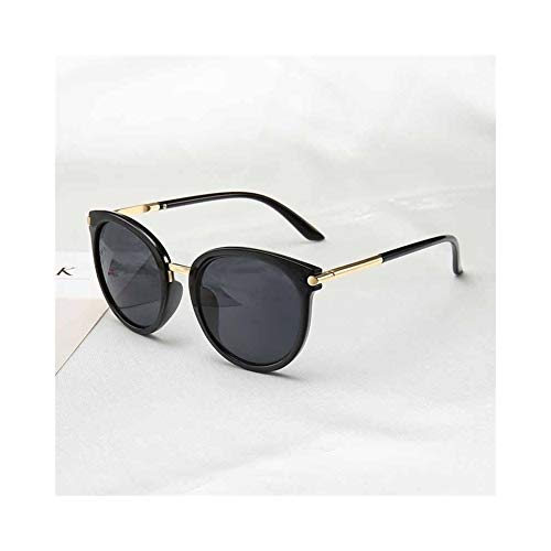 Sonnenbrille Frauen Fahrspiegel Vintage For Frauen Reflektierende Flache Linse Sonnenbrille Weibliche Oculos UV400 (Lenses Color : C1)