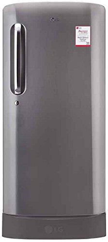 LG 215 L 3 Star Direct-Cool Single Door Refrigerator (GL-D221APZW.DPZZEBN,...