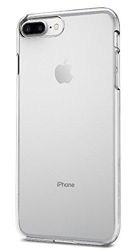Funda iPhone 7 Plus, Spigen® [Thin Fit] Exact-Fit [Crystal Clear] Premium transparent Hard Funda Carcasa para iPhone 7 Plus - (043CS20935)