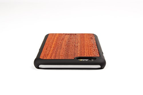 WoodWe Natural Wood Protective Handmade Case / Cover | For Iphone 6 / 6s | Authentic & Stylish | Ethically Sourced | NARRA Padauk