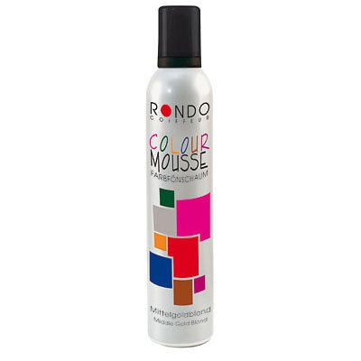 Rondo Color Mousse - Fönschaum Rondo Color Mousse 01 Schwarz - 200 ml