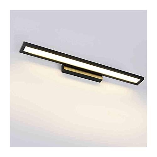 William 337 Bad Eitelkeit Lichter LED Schlafzimmer Wandhalterung Lampe Dressing Spiegel Waschbecken Lampe Aluminium Lampenkörper Wasserdicht Und Anti-fog Zwei Lichtfarben [Energieklasse A +] -