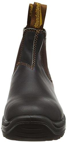 Blundstone Steel Toe Cap, Scarpe Antinfortunistiche Unisex – Adulto Marrone (Brown)