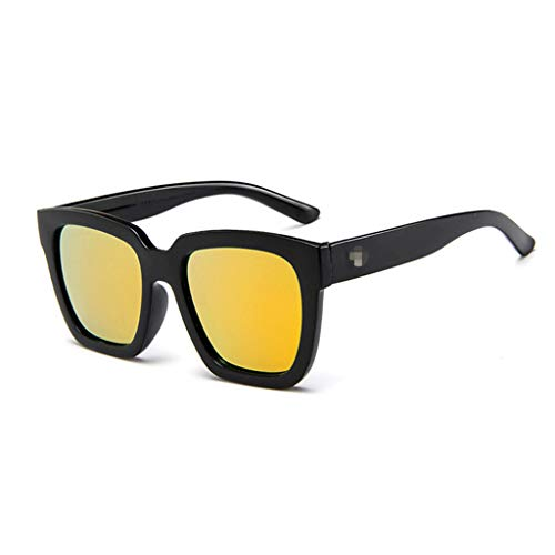 WooCo Polarisierte Sonnenbrillen für Damen und Herren, Heißer Verkauf DEATU Erwachsene Verspiegelten Gläsern(Orange,One size)