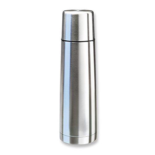 Isosteel VA-9556 Vakuum-Isolierflasche 0.75 L aus 18/8 Edelstahl mit Schraubverschluss und Trinkbecher - 2