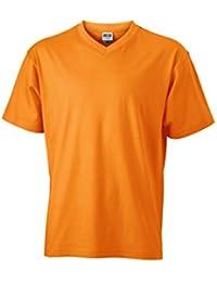 JAMES & NICHOLSON - t-shirt 150 g/m² - manches courtes col V - JN003 - homme