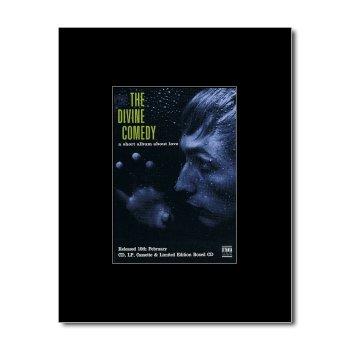 DIVINE COMEDY - A Short Album About Love Matted Mini Poster - 13.5x10cm