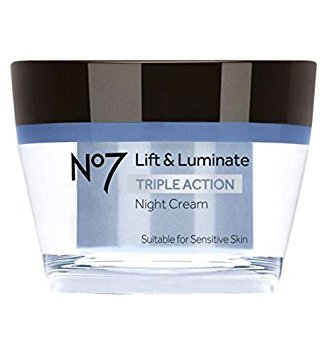 Boots No7 Lift & Luminate Triple Action Nachtcreme 50ml 15 SPF + 5 uva - geeignet für sensible Haut -