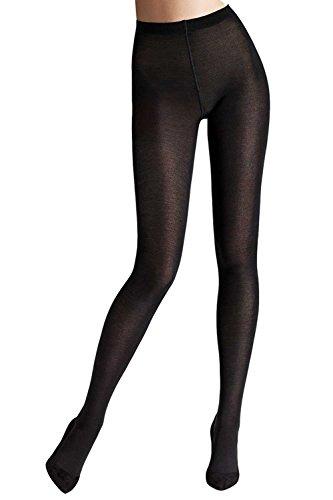 Wolford Damen Merino Tights black S (Wolford Blickdichte Strumpfhose)
