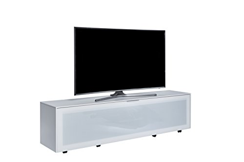 Jahnke Meuble TV TL 518 Active, Bois, Blanc, 40 x 180 x 45 cm