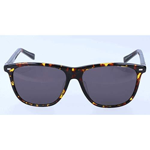 Ermenegildo zegna sonnenbrille ez0009-f occhiali da sole, marrone (brown), 60.0 uomo