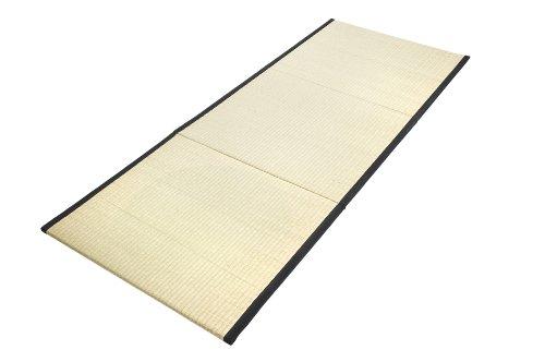 Tatami-matte (Tatami Klappmatte 200x80 (schwarze Borte))