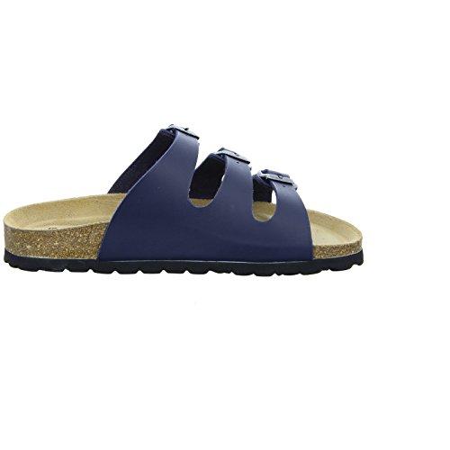 Rohde  1004105, chaussons d'intérieur femme Bleu - Bleu