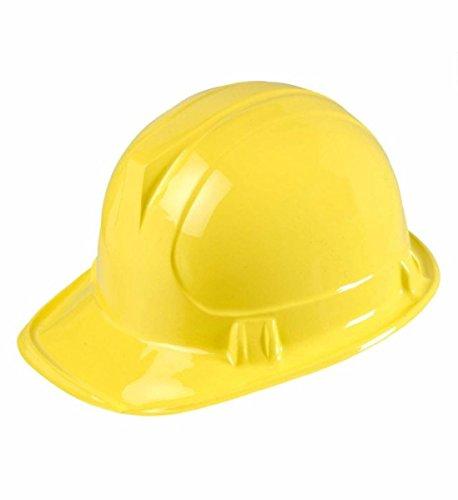 Widmann–Helm Baustelle aus PVC für Erwachsene, gelb, One Size, 2863B (Halloween-kostüme Zum Verkauf)