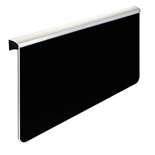HANSHAN Küchentische Wandmontierter Drop-Leaf-Tisch, Wandtisch Klappbarer Schwebender Laptop-Schreibtisch Platzsparender Hängetisch 5 Farbe 2 Größe (Farbe : Schwarz, größe : 31×23×28inch) -