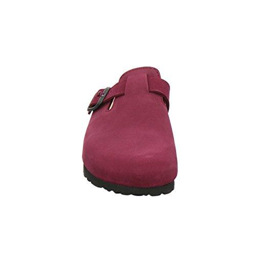 AFS-Schuhe 290034, Mules pour Femme Framboises