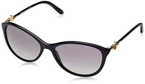 Versace Damen VE4251 GB1/11 Sonnenbrille, Schwarz (Black), One size (Herstellergröße: 57)