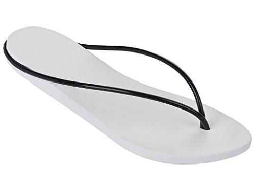 Damen Zehentrenner Ipanema Philippe Starck Thing M FEM 81601 weiß-schwarz (21364)