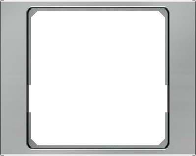 Hager 11087104 interruptor de luz Acero inoxidable - Interruptores de luz (Acero...