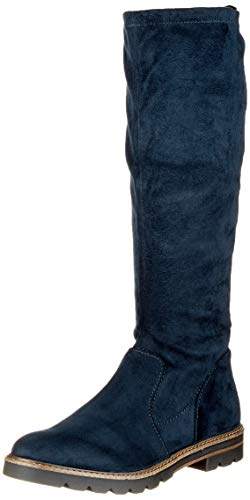 MARCO TOZZI Damen 25547-21 Hohe Stiefel, Blau (Dk.Navy 840), 40 EU