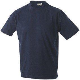 Herren T-Shirt ohne Seitennähte Navy