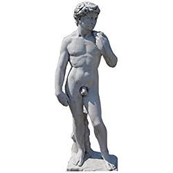 Adonis Steinfigur Griechische Statue David Figur Michelangelo Gott der Schönheit Höhe: 170cm