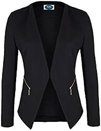 AO 4tuality® Blazer kragenlos mit Zipper