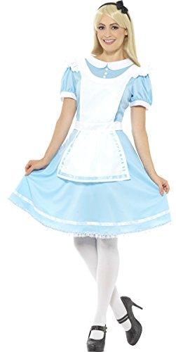Imagen de disfraz de alicia con lazo para mujer