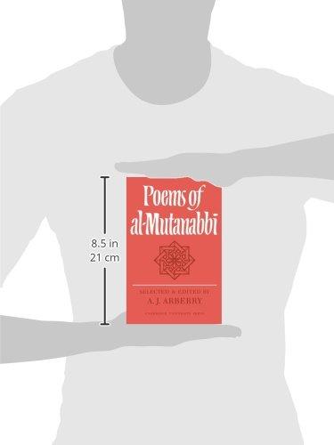 Poems of Al-Mutanabbi