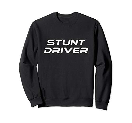 Kostüm Car Driver - Stunt Driver Race Car Lazy Halloween Kostüm Lustig Sweatshirt