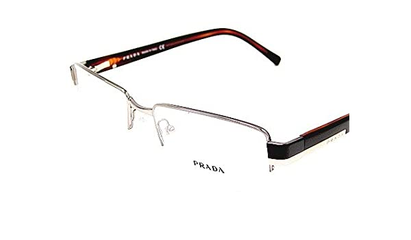 b8c9479e5a New Prada Vpr60H Vpr-60H 5Av-101 Brown Optical Frame Eyeglasses 51-18-135   Amazon.co.uk  Clothing
