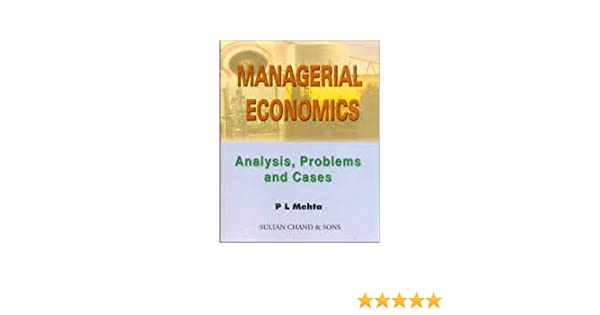 Mehta ebook economics pl managerial