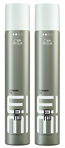 Wella 2x EIMI Dynamic Fix 45 Seconds Styler Modellier Spray 500 Ml