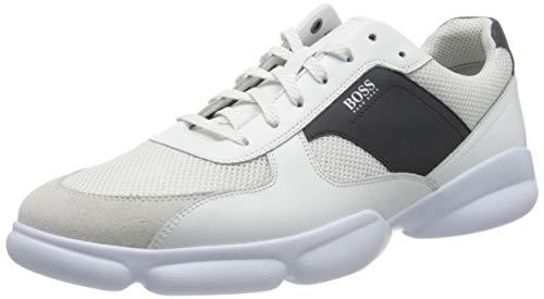 BOSS Herren Newlight_Runn_melt 10214593 01 Sneaker, Weiß (White 100), 42 EU