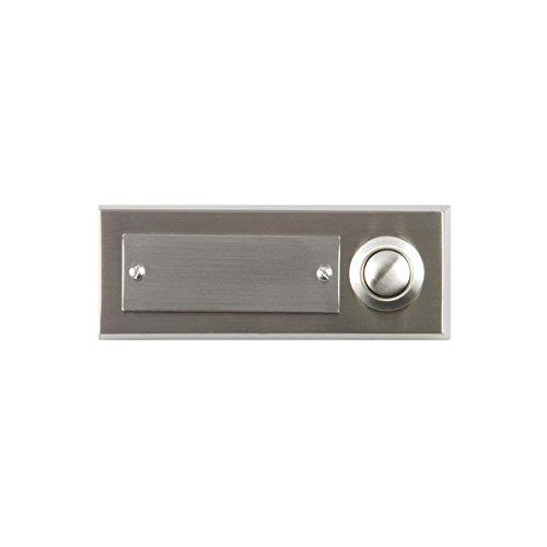41105 Edelstahl-Klingeltaster 2-fach, Aufputz