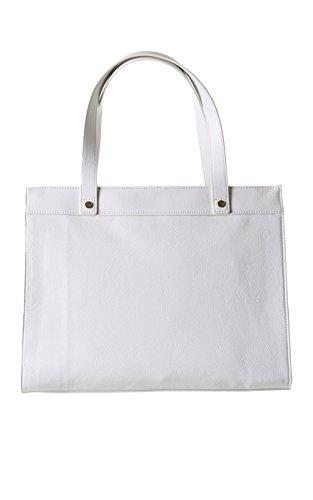 Armani Jeans - Borse Shopping - Bianco Bianco