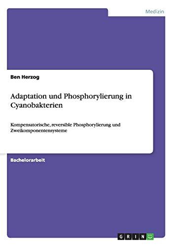 Adaptation und Phosphorylierung in Cyanobakterien: Kompensatorische, reversible Phosphorylierung und Zweikomponentensysteme