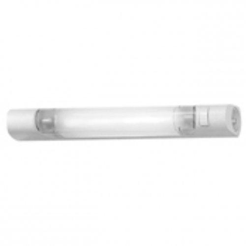Wandleuchte Neon–Leuchtstoff–, S19–IP24–mit inter und Rasiersteckdose–SL–Sarlam 189869