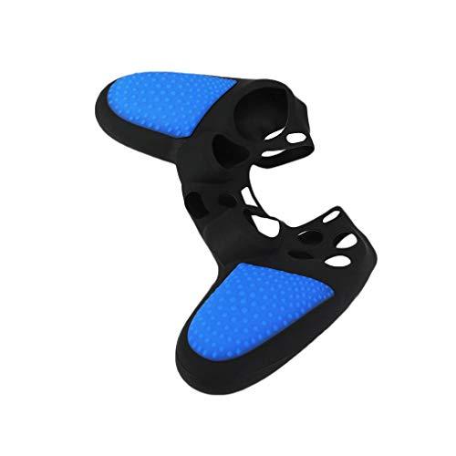 Luckiests Bunte Silikon-Gummi-weiche Gamepad Griff Kasten Haut Abdeckung Ersatz für PS4-Controller Grip Griff Console -