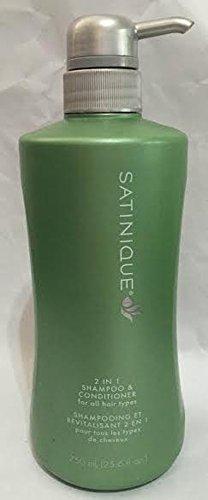 2-in-1 Shampoo und Pflegespülung SATINIQUETM - 2 in 1 Shampoo & Conditioner - 750 ml - Amway - (Art.-Nr.: 116510) -