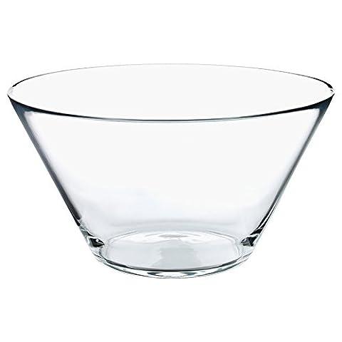 Plat en verre saladiers du bol de fruits et de légumes Grande clair