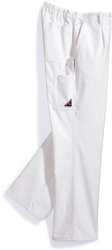 Preisvergleich Produktbild Arbeitshose BP WORKWEAR 1469 Cotton Plus Weiß Gr 44-64, 90-114