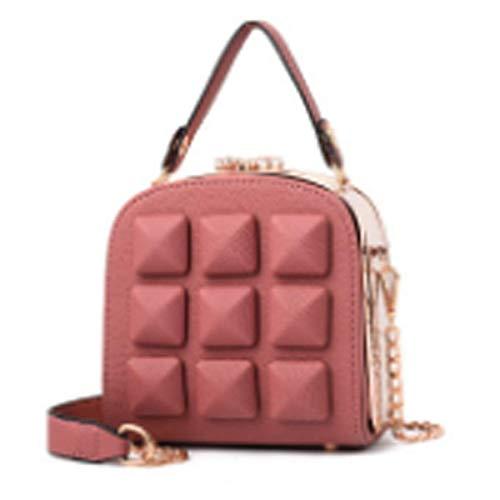 2018 Baby Frauen Handtaschen Umhängetasche Kette Schultertaschen Mode Mini Taschen Lingge Handtaschen28x16x8cm,WhiteLightGoldLarge-OneSize
