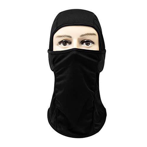 LCLrute Multifunktionstuch Gesichtsmaske,Atmungsaktiv Staubdichtes Gesichtsmaske Fahrradhelm Balaclava CS Ninja Hood Waschbar, Wasserdicht, Atmungsaktiv