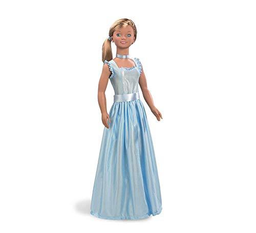 31uM%2BumYa3L Muñeca Carole Princesa 105 cm Azul