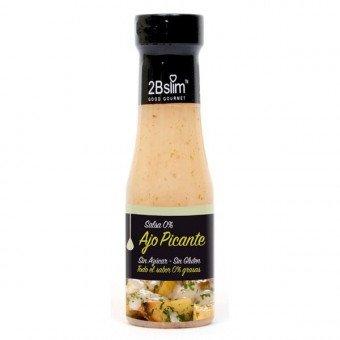 2Bslim Garlic Spicy Sauce, fettfrei, 4kcal pro Portion, 250ml