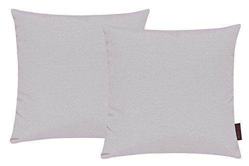 Fino Kissenhülle hochwertig und knitterarm Farbe, 2 Stück.       Eine farbenreiche, hochwertige Auswahl an Kissenhüllen! Der hochwertige Stoff aus Baumwoll-Mischgewebe besitzt eine feste und knitterarme Eigenschaft. Ein hochwertiges Gewebe angeneh...