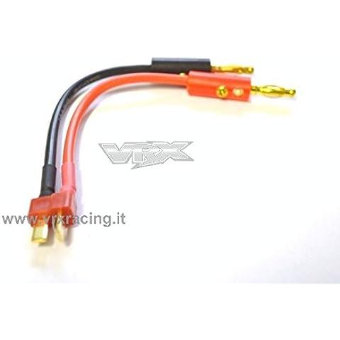Connettore T-PLUG attacco maschio a HXT (attacco a banana maschio 4mm)